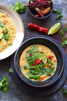 I've been sitting at my laptop for about fifteen minutes now, writing and  deleting various descriptives of green Thai curry. I feel that herein lies  the true description of my love for it; that I cannot possibly put it into  coherent sentences. The profound depth and intensity of my green Thai curry  feels is also a dire insight into my love life/distinct lack thereof, but  that's a story for another time, ie after a few wines and in a journal that  I will subsequently burn or drown…