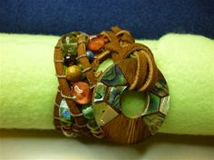 Free project - make your own wrap bracelet - Editors' Blog - Bead Magazine - Online Community, forums, blogs, and photo galleries