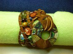 hand made wrap bracelet