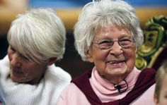 """12 Seniors Who Made Our Day in 2014: Agnes """"Granny"""" Zhelesnik, who started teaching when she was 81 years old. In January she turned 100 and celebrated her birthday with students in New Jersey's Sundance School, where she still teaches cooking and sewing. Asked about her longevity, Zhelesnik told the Star Ledger, """"I suppose it's the children. It's a great life watching children grow up."""""""
