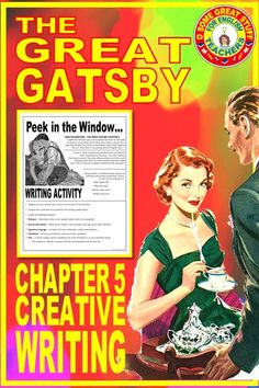 The question arises throughout any discussion of Fitzgerald's The Great Gatsby: Is Nick Carraway, sometimes an unreliable narrator? Yes! After reading Chapter 5 of The Great Gatsby, have students complete this creative writing activity, describing the reunion of Jay and Daisy!Dialogue --- Remember, when a new speaker speaks, start a new paragraph. Sensory Description Figurative Language Symbolism Plot #HIGHSCHOOLENGLISH #AMERICANLIT #NOVELUNIT #SECONDARYELA #CREATIVEWRITING English Short Stories, Ap English, English Activities, Writing Activities, English Teachers, Teaching English, Teaching High Schools, Teaching Literature, Teacher Education