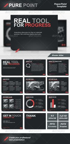 Pure Point PowerPoint Template
