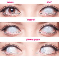Best White Contacts for Cosplay and Halloween - Princess Pinky Cosplay White Mesh White Contacts Halloween, White Out Contacts, Colored Eye Contacts, Halloween Eye Makeup, Halloween Eyes, Halloween Cosplay, Halloween Costumes, Scary Costumes, Artistic Make Up