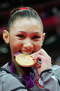 Kyla Briana Ross (born October 24, 1996) is a #FilipinoAmerican artistic gymnast who is a member of the gold medal-winning US Women's Gymnastics team at the 2012 Summer Olympics.