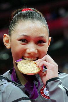 American gymnast and Olympian Alexandra Raisman