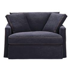 Denim Chair and a Half