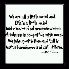 Are you a little weird? I am!