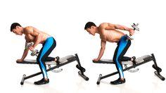 How To Do The Triceps Kick-Back http://www.coachmag.co.uk/arm-workouts/6913/how-to-do-the-triceps-kick-back?utm_content=buffer2497a&utm_medium=social&utm_source=pinterest.com&utm_campaign=buffer
