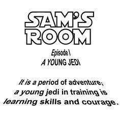 Personalized Star Wars Intro with Child's Name