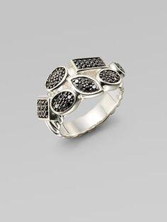 david yurman black diamond ring