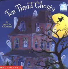 Great Books For #Halloween: Ten Timid Ghosts (Read With Me Paperbacks)