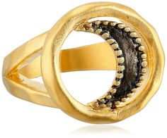 Satya Jewelry 'Celestial' Wax and Wane Moon Ring -- For more information, visit image link. #WomensJewelry