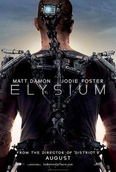 Elysium theatrical poster