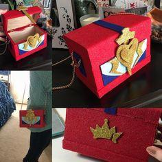 Evie's purse DIY