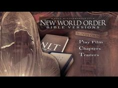 New World Order Bible Versions – have modern Bible translations been influenced by a Luciferian doctrine? Bible Translations, New Bible, World Government, King James Bible, World Religions, New World Order, A Team, In This World, Christ