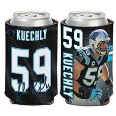 95d0a5426ff NFL Carolina Panthers Luke Kuechly Can Cooler #CarolinaPanthers Carolina  Panthers Luke Kuechly, Nfl Carolina