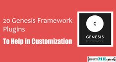Looking for WordPress plugins specially developed for Genesis Framework? I have compiled a list of 20 awesome Genesis WordPress plugins which is compatible.