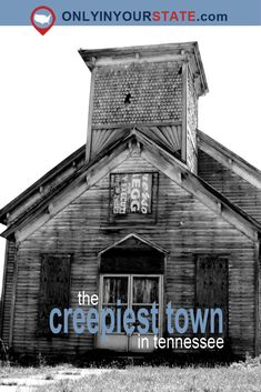 The Creepy Small Town In Tennessee With Insane Paranormal Activity Haunted Towns, Real Haunted Houses, Haunted Prison, Scary Ghost Pictures, Ghost Photos, Most Haunted Places, Spooky Places, Tennessee Vacation, Tennessee Usa
