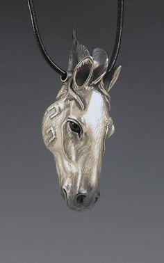 Horse Jewelry, Animal Spirit Jewelry, Handcrafted Silver horse Pendant
