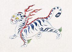 Korean Tattoos, Asian Paints, My Past Life, Drawing Sketches, Drawings, Japanese Art, Painting & Drawing, Folk Art, Oriental