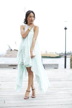 (Talulah 'Desert Blossom' Dress, Michael Kors Watch, Vintage Necklace/Bracelet, Tony Bianco Heels, Forever New Clutch)