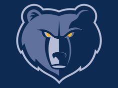 Top 10 Sports Logos of All Time Sports App, Sports Logos, Teen Projects, Memphis Grizzlies, Bear Logo, Basketball Teams, Medium Art, Logo Inspiration, Superhero Logos