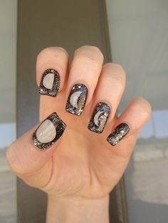 Moon nails.