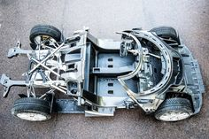 Koenigsegg Regera Carbon Chassis Surfaces, Looks Like Stripped-Down Track Car Homemade Go Kart, Tube Chassis, Racing Car Design, Suspension Design, Car Tuning, Kit Cars, Performance Cars, Koenigsegg, Automotive Design