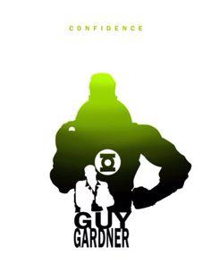 Guy Gardner - Confidence by Steve Garcia