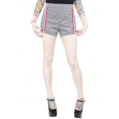 Bomshell Shorts Black/White