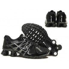Dame Nike Shox R3 Velcro Sko Sort Peach,nike max thea,nike