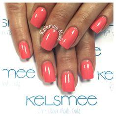 ManiQ overlay - acrylic nails Orange