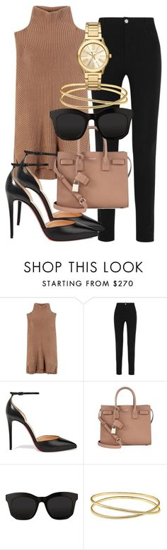 Untitled #2025 by mariandradde ❤ liked on Polyvore featuring Vince, Givenchy, Christian Louboutin, Yves Saint Laurent, STELLA McCARTNEY, Maison Margiela and Michael Kors