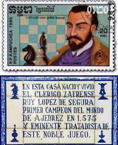 Ruy López de Segura. Campeón mundial no oficial (1559-1575).