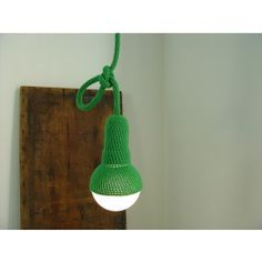 Golf Crocheted Pendant Light  MAKERS OF DESIGN www.makersofdesign.com  A curated online collection of independent designers Buy Independent Design ! Stay Unique ! ♡ We ship worldwide