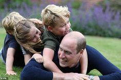 When asked what she liked most in her own childhood, the duchess said: 'I loved spending t...