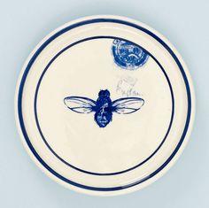 Bee coaster by Kate Thorburn.