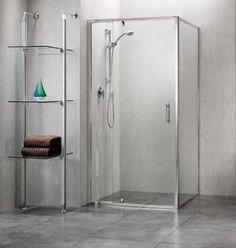 Scopedor Semi Frameless Shower Screen for custom made shower Semi Frameless Shower Screens, Glass Shower Doors, Shower Enclosure, Beautiful Bathrooms, Custom Made, Locker Storage, Bathtub, House Design, Flooring