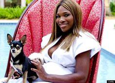 Serena Williams dog.
