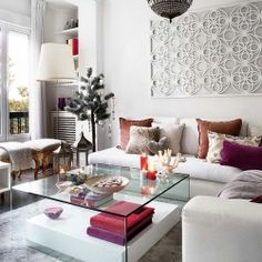 The gorgeous residence of interior designer Miriam Alia in Spain. #dwellinggawker