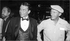 "Francis Albert Sinatra and Harry Lillis ""Bing"" Crosby. These two have a huge chunk of my heart."