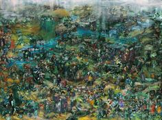 The Charlatans - Paintings - Ali Banisadr