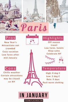 weather in paris in january 2020