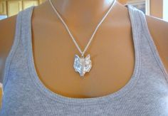 Fantastic Mr Fox Charm Necklace  gift for her by lucindascharms, $12.00
