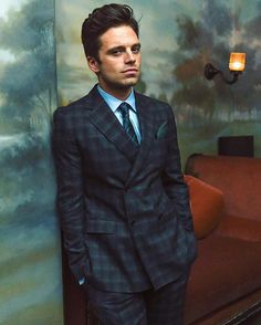 STYLE MAVERICKS OF THE YEAR...It's a gentlemen's night hosted by ESQUIRE MAGAZINE in NYC tonight at LE COUCOU. Actor SEBASTIAN STAN attended the event. SEBASTIAN is wearing suit, shirt, tie, pocket square and shoes, all by SALVATORE FERRAGAMO (Tonight's event presenter). Styling by @visualtales Special thanks to the wonderful team at FERRAGAMO for their support! #actor #stylemavericks #celebration #fashion @imsebastianstan @ferragamo @alexgobo @shannono.rourke @blakemetzger @esquire