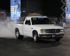 Little White S10 Truck Great Until I Rolled It Then We Bought A