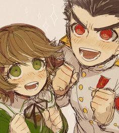 Chihiro and Kiyotaka
