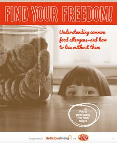 Download a free guide book all about food allergies with Enjoy Life Foods and Delicious Living - including free recipes!