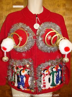 Ugly Christmas Sweater lmao yes!