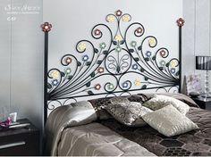 Decorativo #Cabecero de #hierro #forjado hecho artesanalmente en España. ¡Clica para ver más!